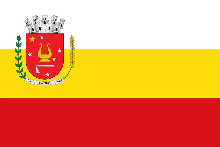 Bandeira e Brasão de Maringá